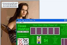 free strip poker games online